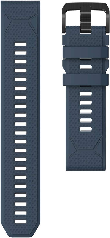 Accesorios para reloj de aventura GPS COROS VERTIX   Correa de liberación rápida de silicona 22 mm