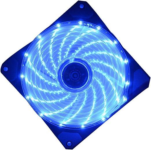 YILONG 120mm LED Ultra silencioso PC Caja de la computadora del ...