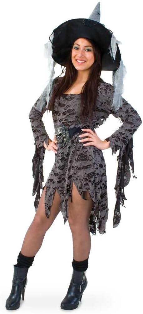 Carnaval 10617 disfraz de bruja Halloween Queen vudú nueva ...