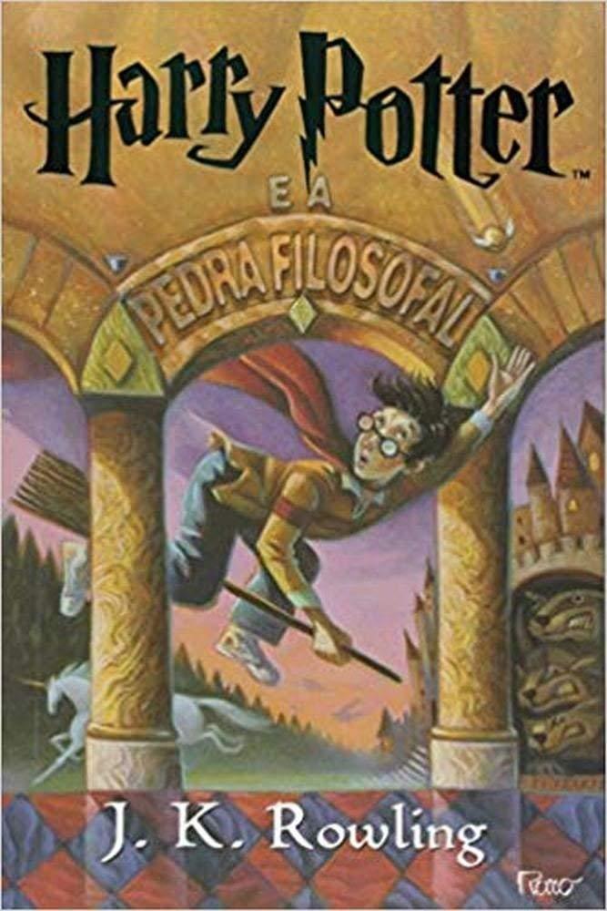Harry Potter e a Pedra Filosofal (Em Portugues do Brasil): _:  9788532523051: Amazon.com: Books