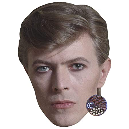 David Bowie (1977) máscara de Celebridad, Tarjeta Cara y Disfraz ...