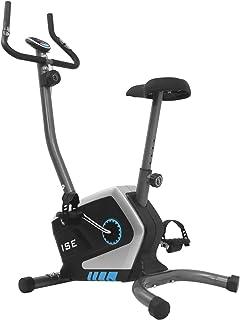 ISE Cyclette magnetica Fitness, 8livelli di resistenza regolabili, sensori di impulso e monitor LCD 8livelli di resistenza regolabili