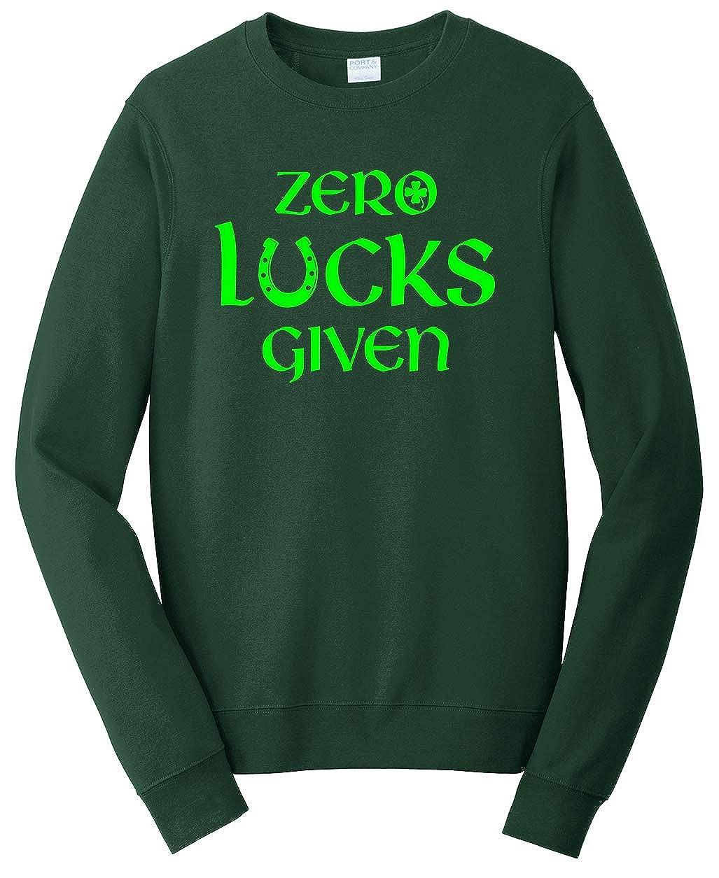 Tenacitee Unisex Zero Lucks Given Sweatshirt