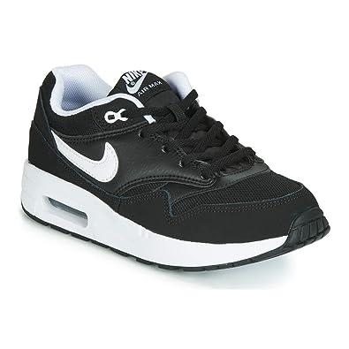 new style 59a63 79780 Nike AIR Max 1 (PS), Chaussures de Running Garçon, Noir (Black