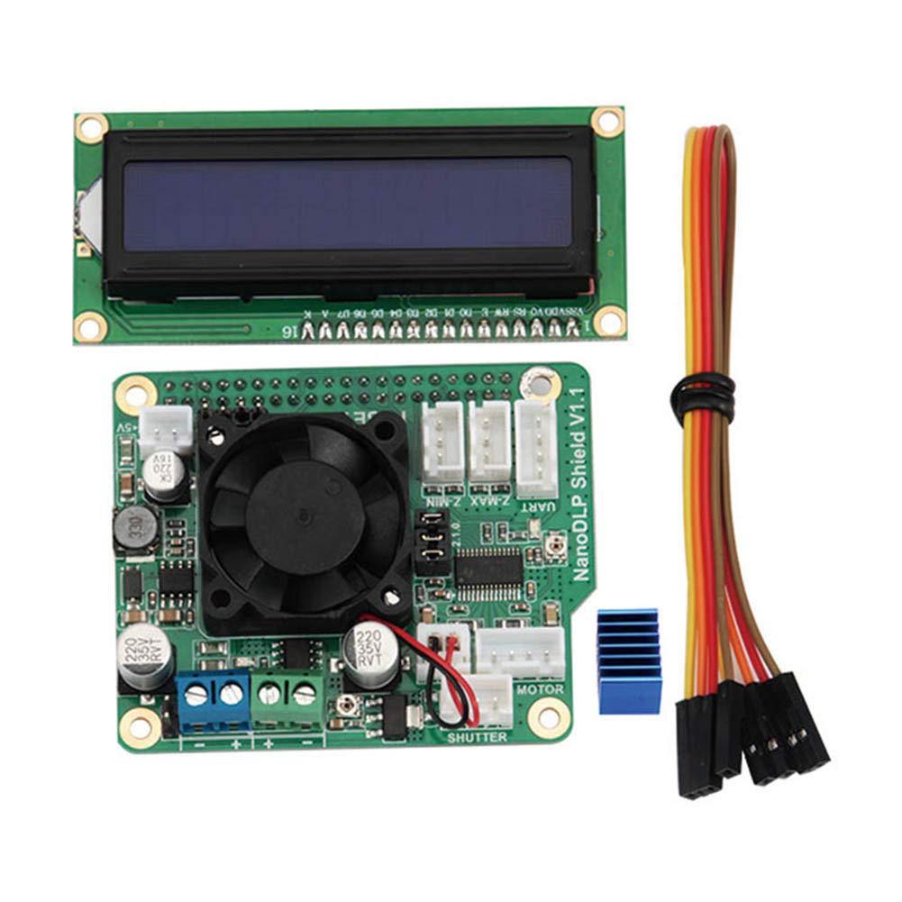 ZREAL Tarjeta de expansión con Pantalla para módulo LCD 1602 para ...