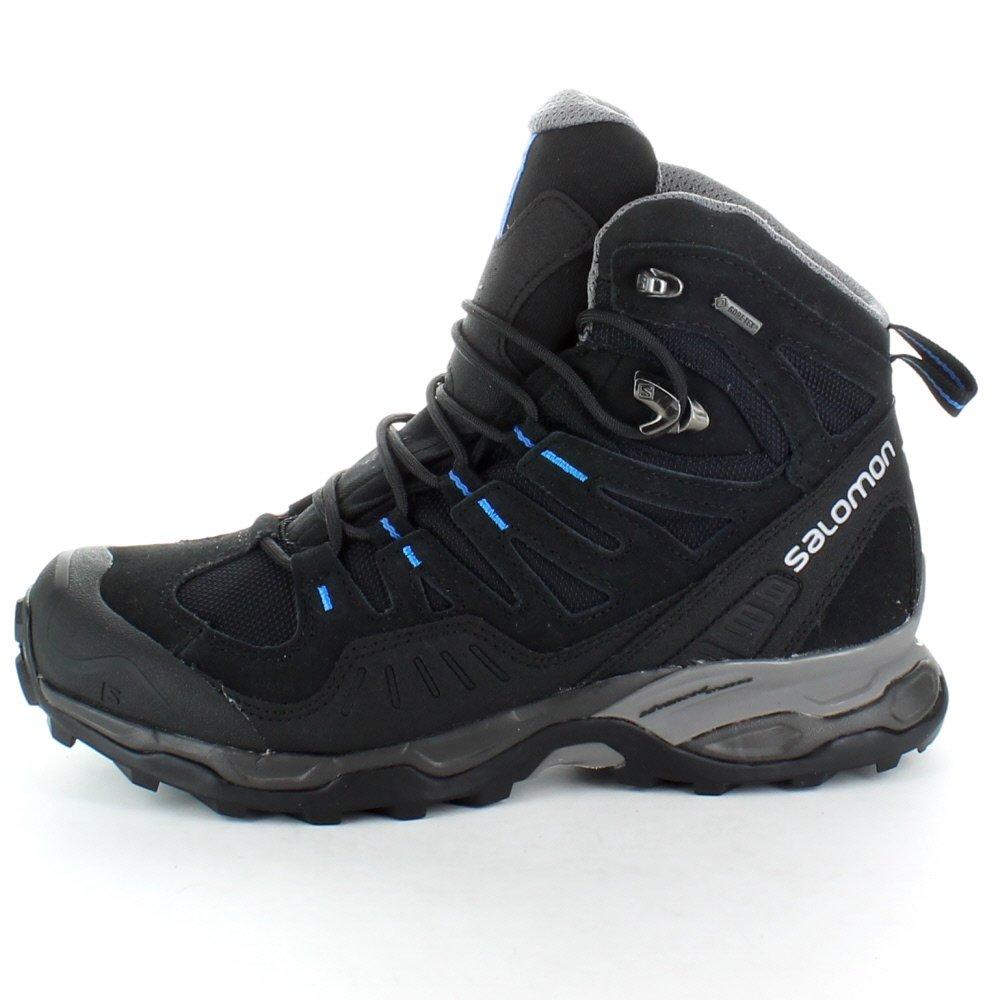 Amazon.com: Salomon mens Mens Conquest GTX GoreTex Waterproof Walking Boots Black Black UK Size 9 (EU 43, US 9.5): Shoes