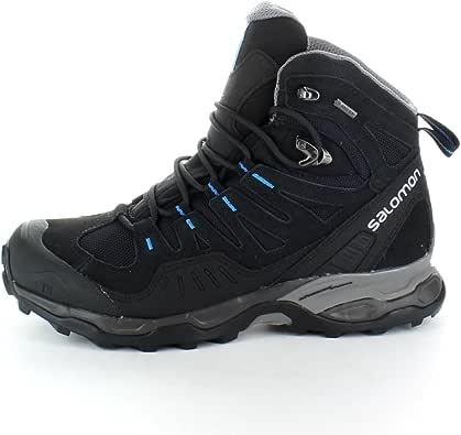 Salomon Mens Mens Conquest GTX Goretex Waterproof Walking Boots Black