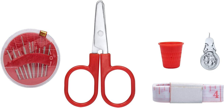 Needlework Box Set for DIY Emergency Beginners Summer Campers Vordas Essential Sewing Tools Kit Home Travel