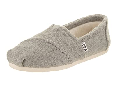 3cf29d7422950 TOMS Women's Classic Slip-On (7.5 B(M) US, Drizzle/Grey)