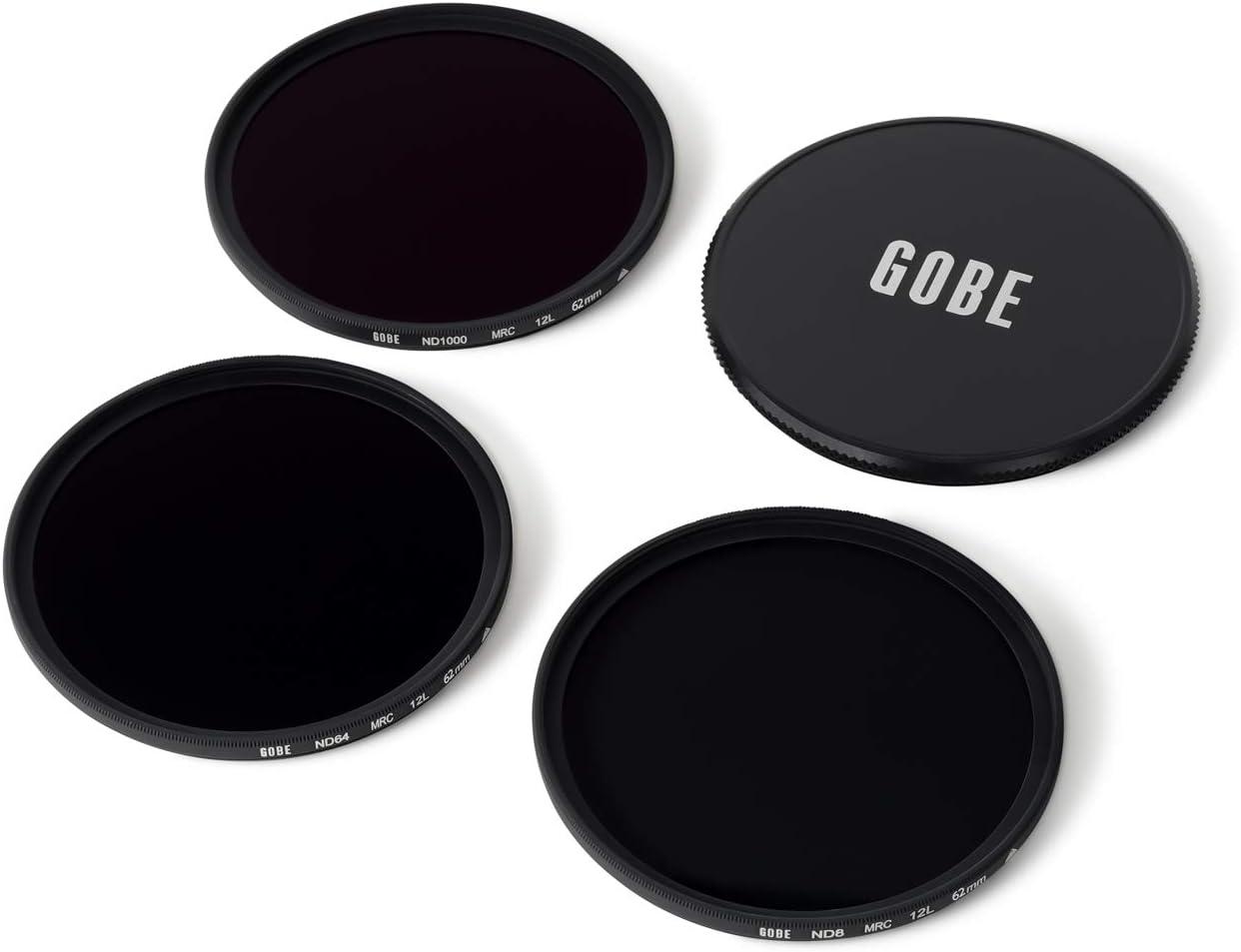 ND64 Gobe 58mm ND8 1Peak ND1000 Lens Filter Kit