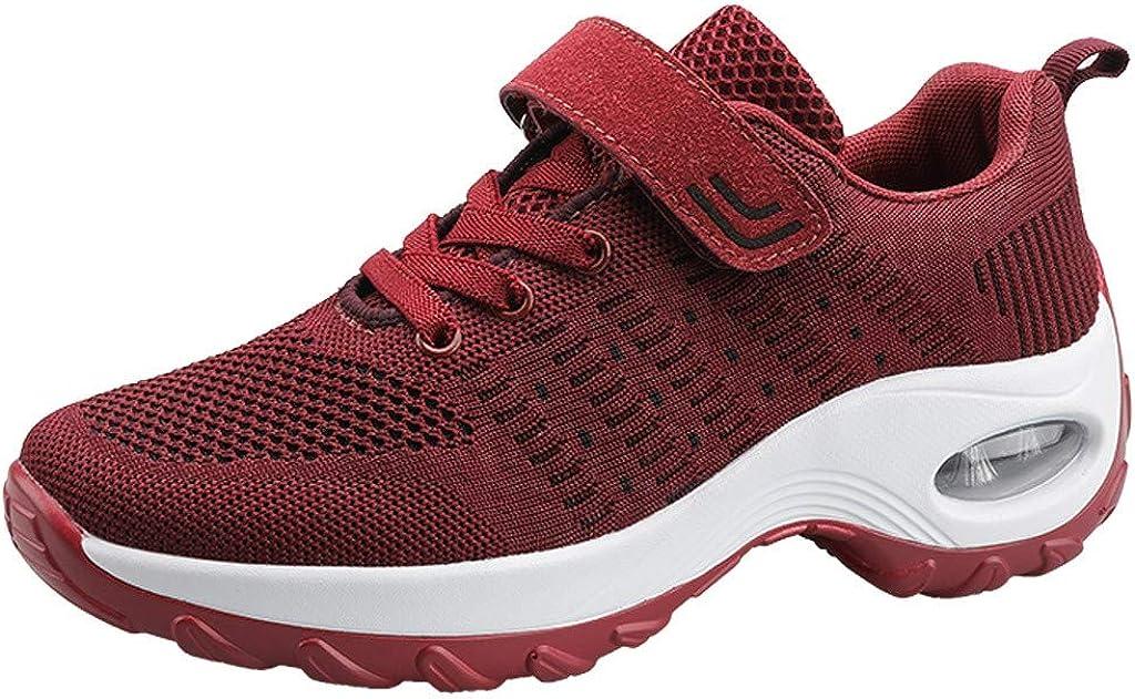 Miuye yuren-Shoe Womens Gifts Go Walk Soft Insoles Athletic Shoes Memory Foam Fashion Sneaker Lightweight Lace up Shoes