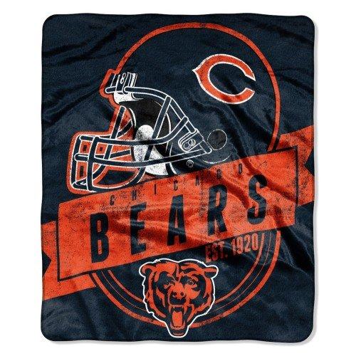 50x60 Royal Plush Blanket (Chicago Bears 50