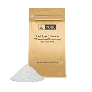 PURE Calcium Chloride (2 lb.), Eco-Friendly Packaging, Highest Quality, Food Safe, For Wine Making, Home Brew, & Cheese Making