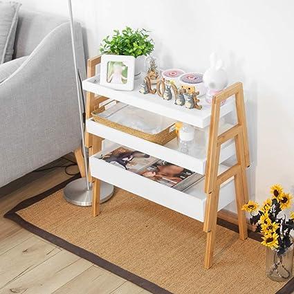 XQY Home Bedroom Bookcase Creative Combination Bookshelf Living Room Floor Multi Layer Simple