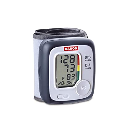 Tensiometro digital de muñeca AARON | one, con tecnología de medición ascendente para una medición
