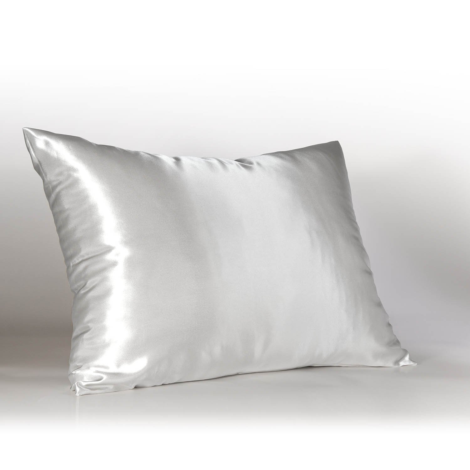 Cheap white pillowcases for crafts - Sweet Dreams Luxury Satin Pillowcase With Zipper Standard Size White Silky Satin Pillow Case For Hair By Shop Bedding