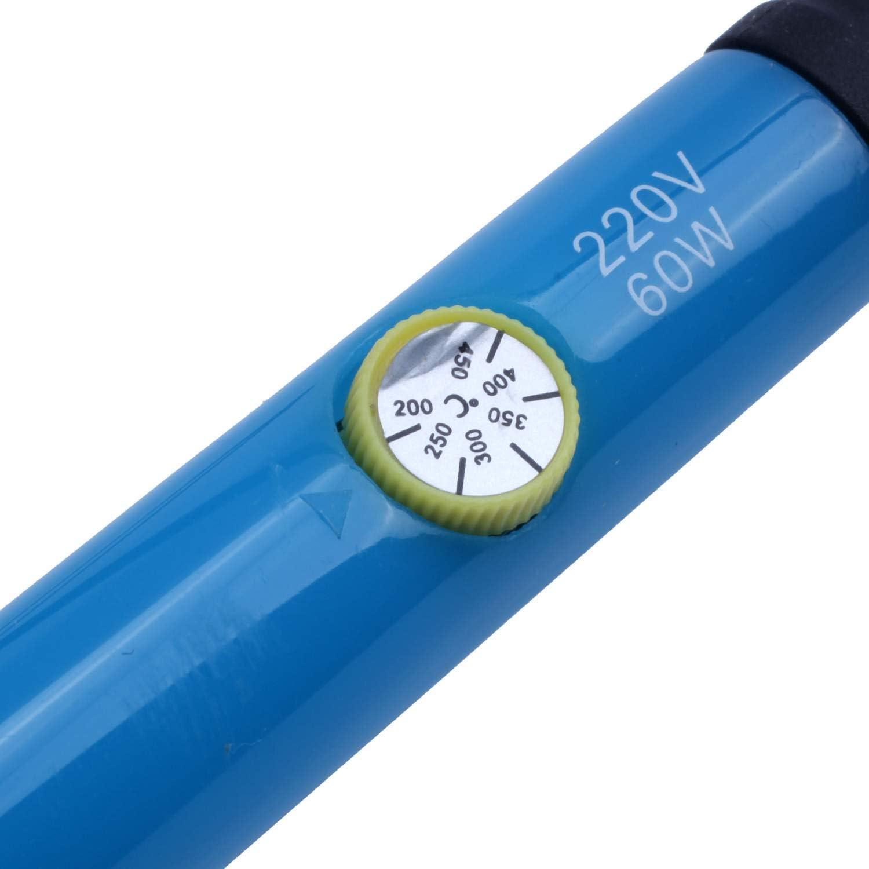 RETYLY L?Tkolbenwerkzeug 220V 60W Temperatureinstellbare L?Tpistole