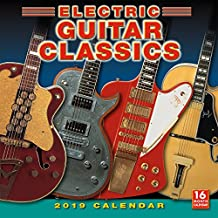 2019 Electric Guitar Classics 16-Month Wall Calendar: by Sellers Publishing, 12x12 (CA-0385)