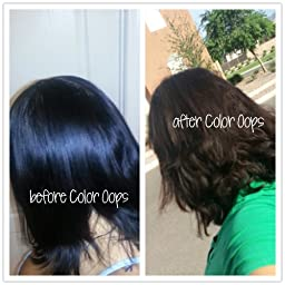 Color Oops Results On Black Hair Amazon Com Customer
