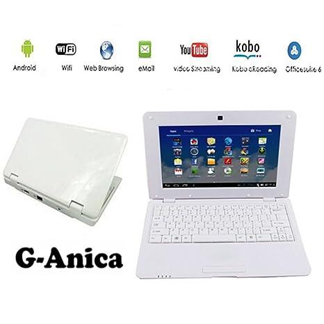 "G-Anica Ordenador portátil de 10.1""(WIFI, 1.5GHz 512 MB de"