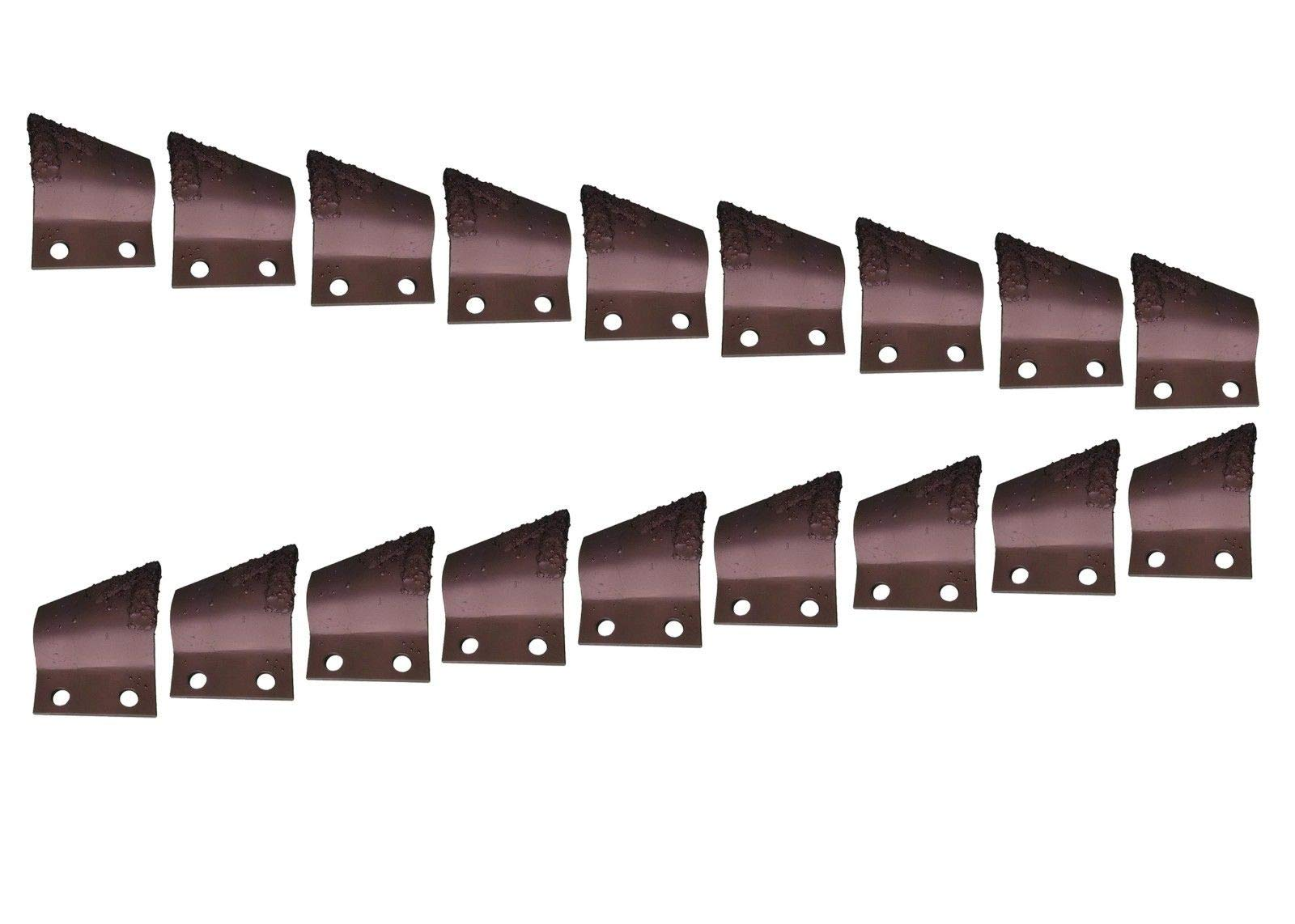 Cupped Trenching Teeth w Carbide- B135924, B135925, 2'' Centers on Bolt Holes by Digger Supply