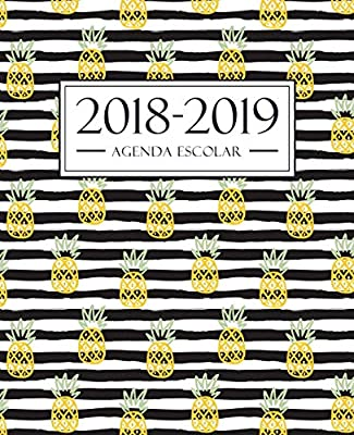 Amazon.com: Agenda escolar 2018-2019: 190 x 235 mm : Agenda ...
