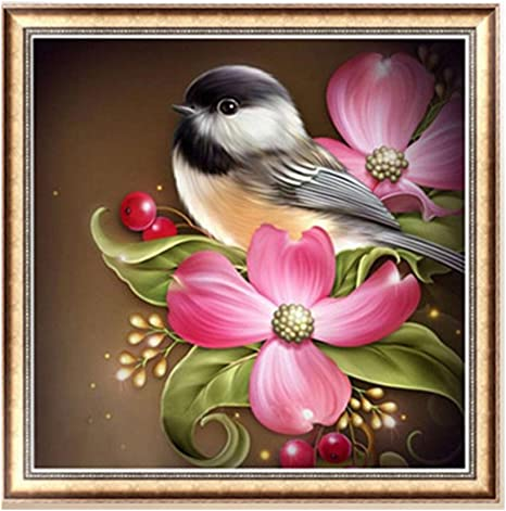 5D Diamante Pintura Flor Animal Bordado Cruz Puntada Home Decor Art Craft
