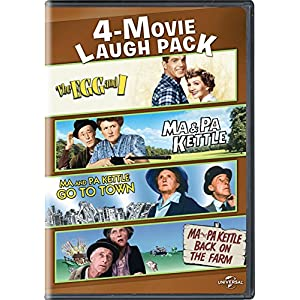 The Egg and I / Ma & Pa Kettle / Ma and Pa Kettle Go to Town / Ma and Pa Kettle Back on the Farm 4-Movie Laugh Pack