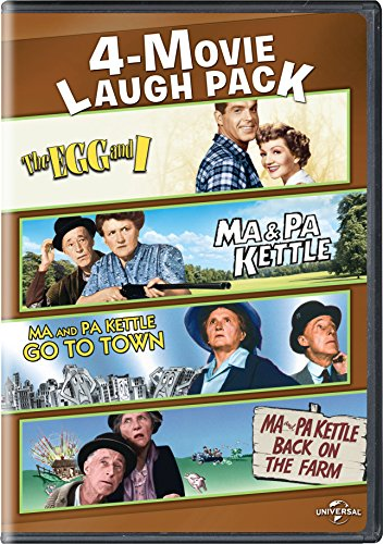 The Egg and I / Ma & Pa Kettle / Ma and Pa Kettle Go to Town / Ma and Pa Kettle Back on the Farm 4-Movie Laugh Pack - One Fried Egg