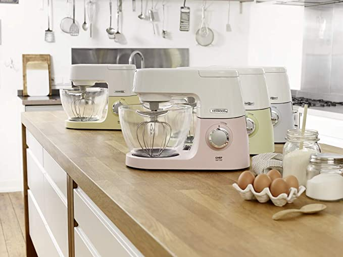 Kenwood KVC 5100 Chef Sense Colour Collection KVC5100G-Cafetera monodosis, 1200 W, Vidrio, Verde, Blanco: Amazon.es: Hogar