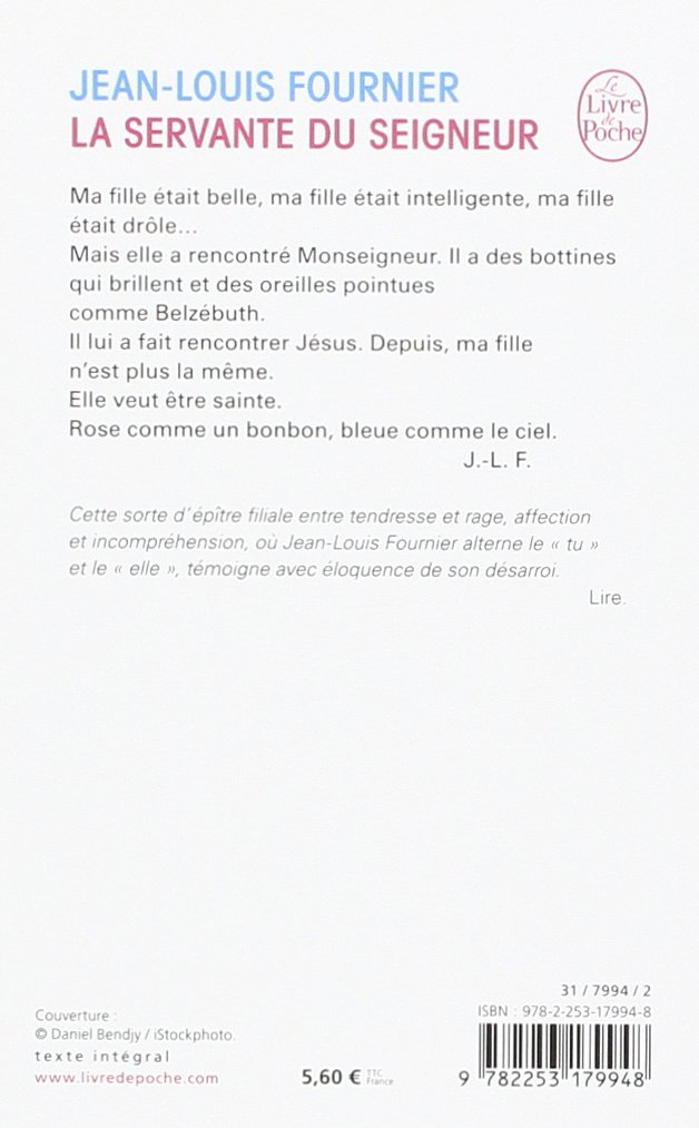 La Servante Du Seigneur (French Edition): 9782253179948: Amazon.com: Books