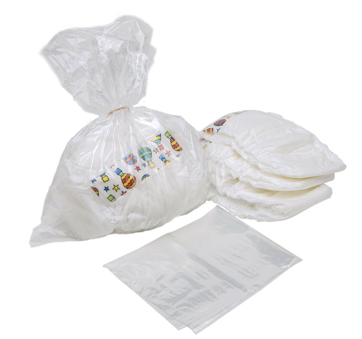 AMMEX - DB750 - Diaper Disposal Bags, 750 Bags/Roll (Case of 4 Rolls)