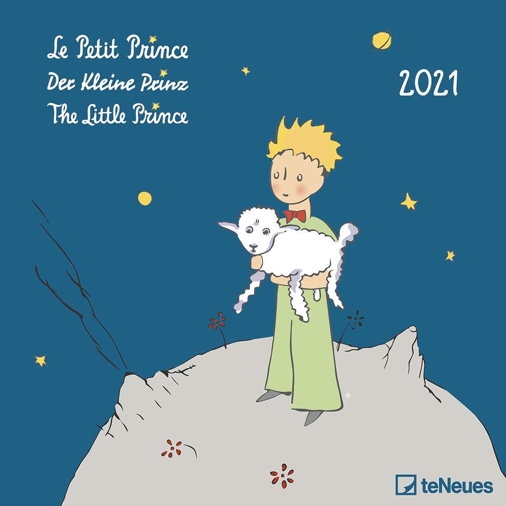 der kleine Prinz Wandkalender 30 x 30 cm 2020  Broschürenkalender