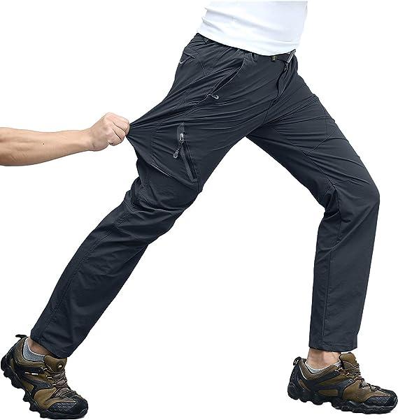 transpirable para gimnasio running de forro polar manga larga cuello alto KEFITEVD Camiseta deportiva para hombre con media cremallera el/ástica