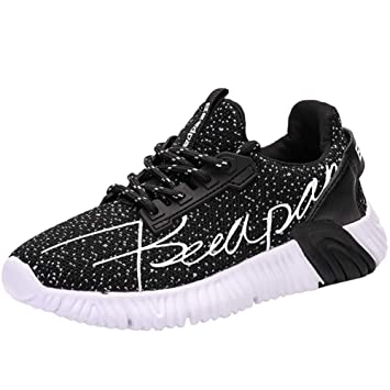 Boys Girls Tennis Running Trainers Kids Comfort Athletic