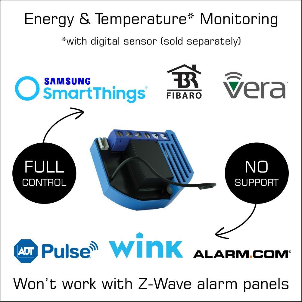 Qubino Z-Wave Plus Flush Shutter Motor Controller for Motorized Blinds and Shades ZMNHCD3