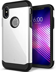 Caseology Legion for Apple iPhone X Case (2017) - Reinforced Protection - White