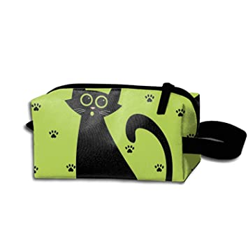 5f7d1c69dd Amazon.com : Cat Set Cartoon Portable Make-Up Zipper Pouch Carry Sewing Kit  Medicine Bag : Beauty
