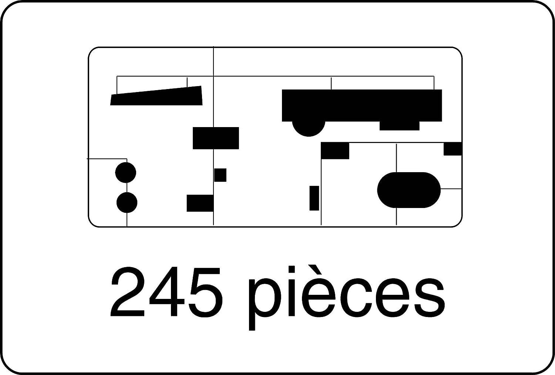 Echelle 1//35/ème Amx 13//75 81122 Heller Construction Et Maquettes