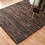 Alexander Home Hand-woven Thais Coconut Felted Wool Rug (5' x 7'6)