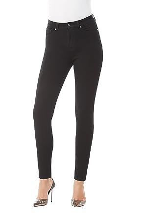 b7d8aa9ab1d4c Amazon.com  Peter Nygård Jeans Hi Rise True Skinny Black XS  Clothing