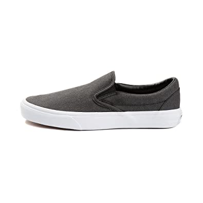 Vans Slip On Mens Fashion-Sneakers VN-0A38F7QCZ 9.5 - Herringbone Black c3f3990e8