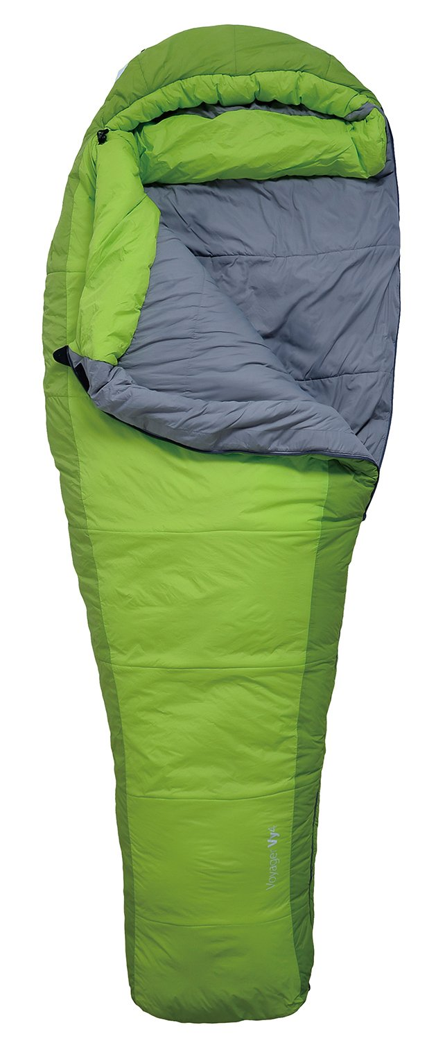 Sea to Summit Voyager Vy4 Sleeping Bag Regular lime Ausführung rechts 2016 Mumienschlafsack