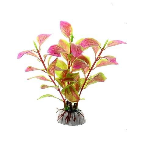 Yiitay - Decoración para pecera, no tóxica, planta artificial, acuario, paisaje,