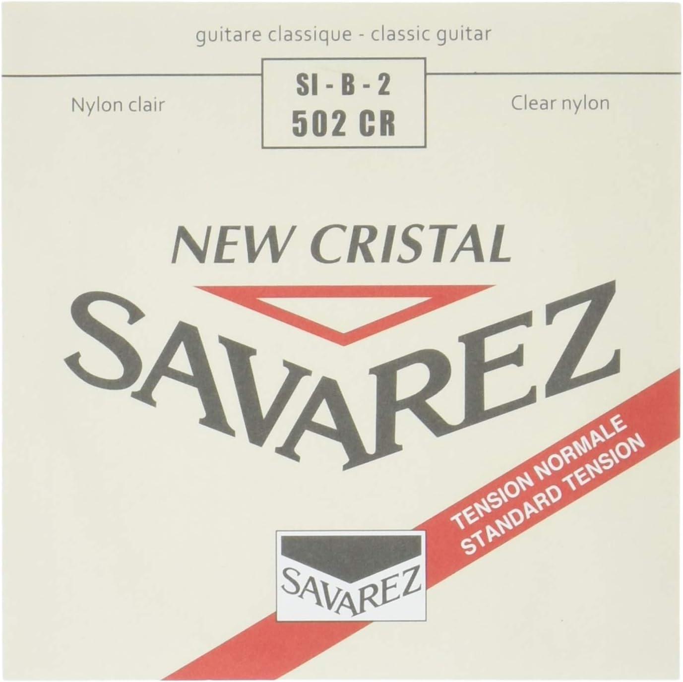 Savarez Cuerdas para Guitarra Clásica Alliance HT Classic 502CR cuerda suelta Si2 New Cristal standard