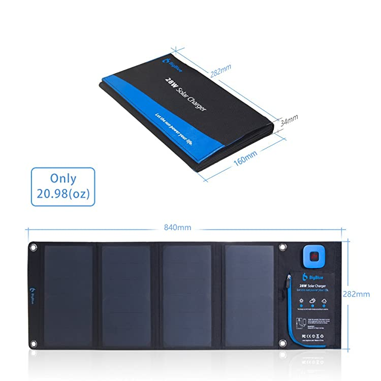 BigBlue USB Solar Panel Charge