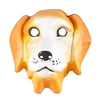 Super günstig Kaufen Sie Authentic Sonderrabatt von PARTY DISCOUNT Neu Maske Hund aus Plastik, Kindergröße ...