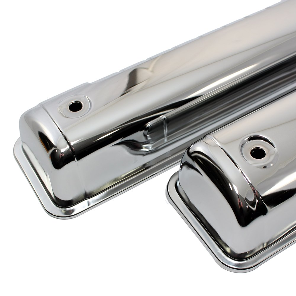 Assault Racing Products A7541PBK for Ford Y Block 54-64 Black Valve Covers 272 292 312