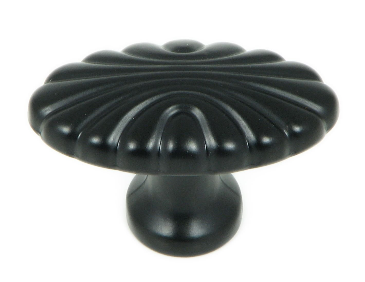 Stone Mill Hardware CP30-MB The The Matte Black Tuscany Cabinet Knob,