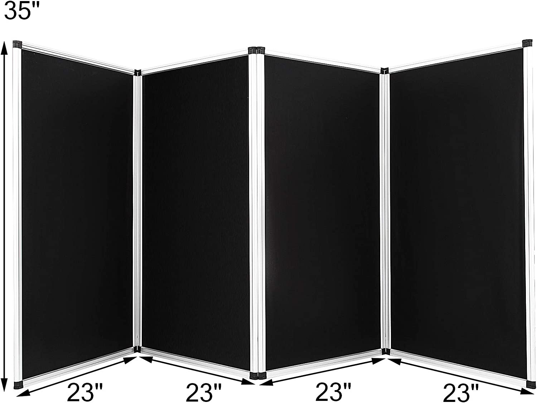 Banana B DJ Event Facade 4 Panel plegable de pared 45 x 110 cm negro y blanco pantalla de DJ con licra extraíble y panel, 280 X 120cm/Aluminiumlegierung: Amazon.es: Instrumentos musicales